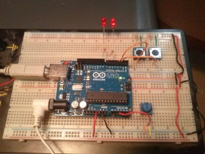 Arduino UNO Running Ladder